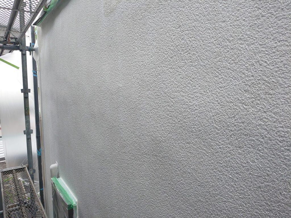 下塗り塗装後