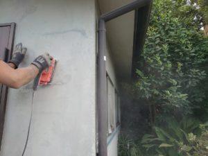 町内会館の塗装工事