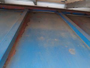 屋根のさび塗装