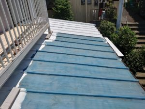藤沢市のトタン屋根塗装