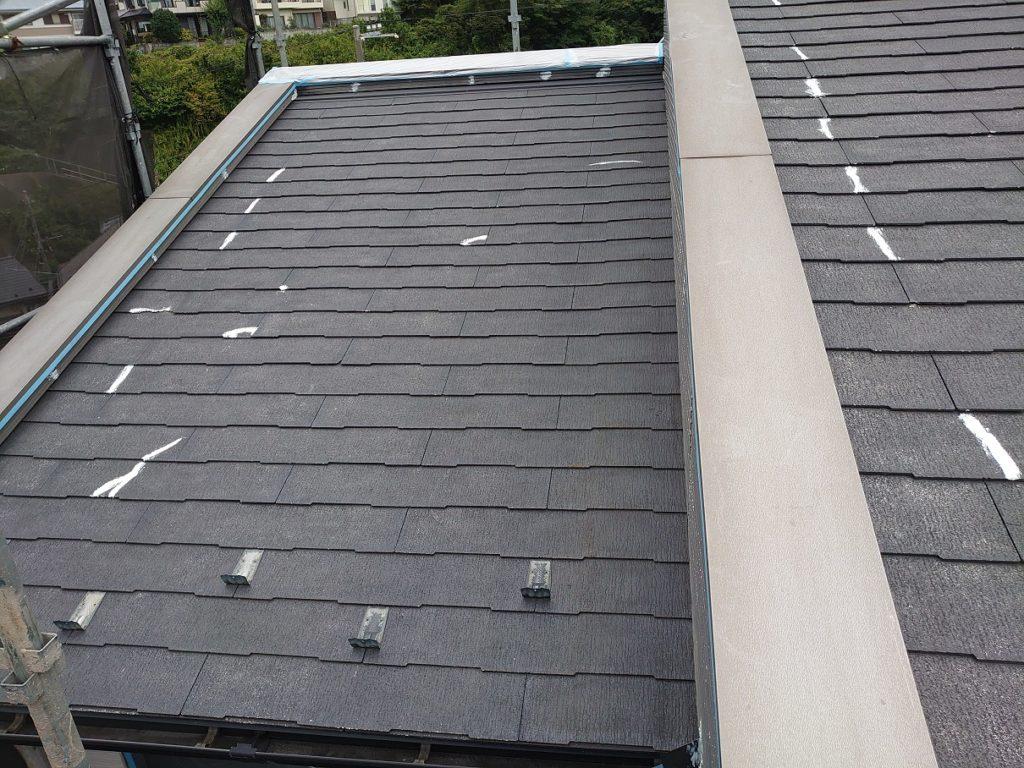 屋根補修後の様子