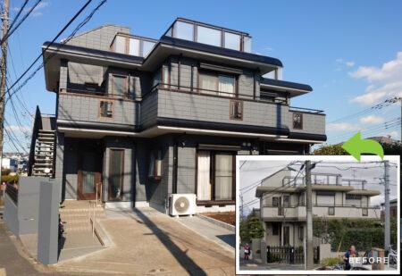 町田市の住宅塗装施工事例